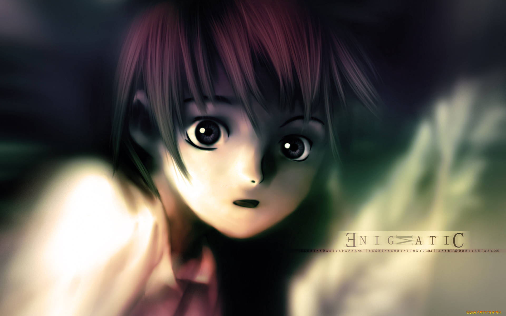 serial, experiments, lain, аниме